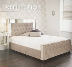 Mirrored Furniture In Bedroom Mirrored Furniture Glam Home Store