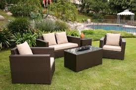 modern outdoor wicker patio furniture