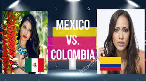 Miss Universe 2016: MEXICO vs. COLOMBIA - YouTube