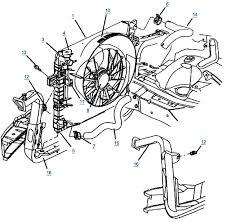 wj grand cherokee 4 0l cooling cherokee transmission cooler lines rh 4wheelparts com 2006 jeep grand cherokee laredo radio wiring diagram 2006 jeep grand