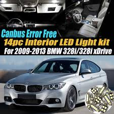 Led Lights For 2013 Bmw 328i Amazon Com 14pc Canbus Error Free Super White 6000k Car
