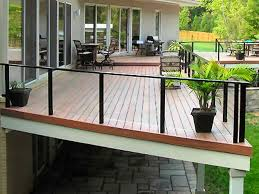 glass deck railing systems photo 2