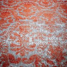 distressed wool rug distressed damask wool rug salmon west elm distressed rococo wool rug blue lagoon