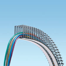 wiring duct for wire management in control panels flexible wiring duct
