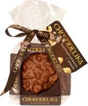 <b>Чокоделика</b>, <b>Молочный шоколад</b> с кешью, плюшка, 30 г