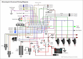 megasquirt sequencer coils general wiring guidelines · wiring diagram