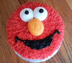 Elmo 1st Birthday Smash Cake Cakes Smash Elmo Birthday Cake