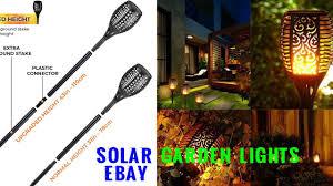 Solar Garden Lights Ebay Solar Garden Lights Ebay