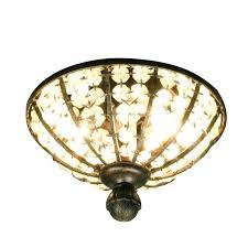 chandelier ceiling fan light kit crystal chandelier ceiling fan light kit 4 light oil rubbed bronze