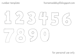 Free Printable Number Templates Table 1 10 A4 Mult Igry Com