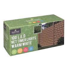 Battery Operated Net Lights With Timer Details About Gardenkraft Battery Operated Net Timer Light With 100 Led Warm White