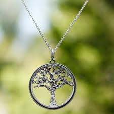 unique mexican sterling silver tree necklace joyous jacaranda