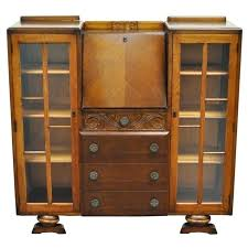 antique drop front secretary desk with bookcase articles with tiger oak secretary desk tag compact antique drop front bookcase antique drop front secretary