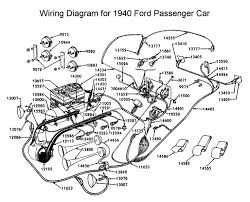 wiring diagram for 1940 ford wiring pinterest ford 1956 ford f100 wiring diagram at 1956 Ford Car Wiring Diagram
