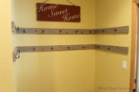 Double Coat Rack DIY Coat Rack For Open Space Or Closets What Rose Knows 58