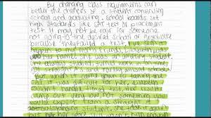 Argument Essay Using Personal Experiences