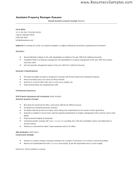 Resume For Property Manager Apartment Professional User Manual