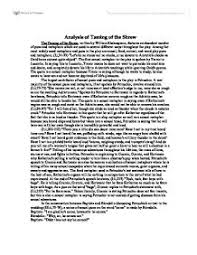 analysis of the taming of the shrew university linguistics   the taming of the shrew page 1 zoom in