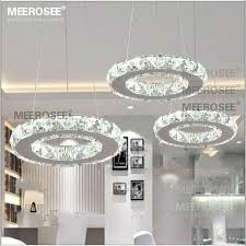 led crystal chandelier led crystal chandelier light for aisle porch hallway stairs crystal ring dining light