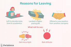 Good Reasons For Leaving A Job On An Application Best Tips For Leaving A Job You Hate