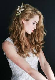Wedding Hairstyles Down 32 Best 24 Charming Bride's Wedding Hairstyles For Naturally Curly Hair