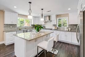all white shaker cabinets kitchen designs