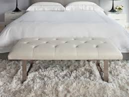 white bedroom bench ideas