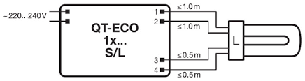 quicktronic economic ecg for fl and cfl not osram wiring diagramzoom image