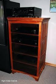 wood stereo cabinet mahogany audio cabinets cabinets wood wooden stereo cabinet plans