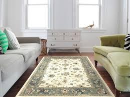 kas rugs bob mackie home vintage sand seafoam rectangular area rug 1304