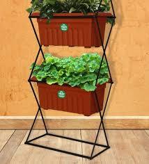 3 tier vertical gardening pot stand