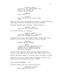 screenplay cover letter