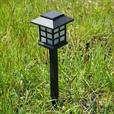 cottage outdoor lighting. 4pcs lot waterproof solar light changeable 7 colour cottage lamp led spot landscape outdoor garden path lawn lighting c