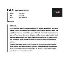 Fax Transmittal Template 41 Free Printable Fax Cover Sheet Pdf Template That You Can Use