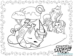Animal Jam Coloring With Game Play Also Kids Image Number 1334