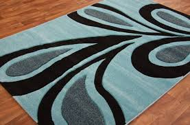 image of turquoise area rug 5 8