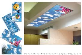 decorative u0026 nature full image for modern fluorescent light covers