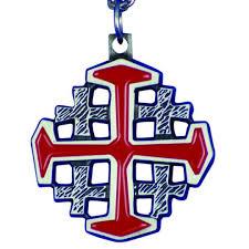 red crusaders cross red jerum