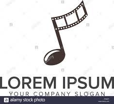 Music Video Logo Design Entertainment Stock Vector Images Alamy