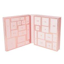 Phot Calendar Stationery Lovers Advent Calendar Luxe Soft Pink Christmas