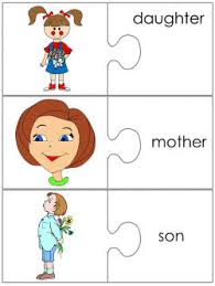 Word S Day Template Mother S Day Jigsaw Word Match Worksheets