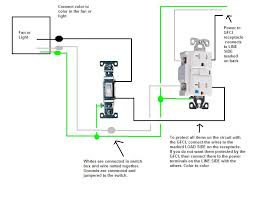 wiring gfi outlets diagram hook up light switch receptacle home wiring guide how to wire a switched half hot outlet