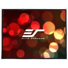 elite screens diy pro series 133 in diagonal projection screen