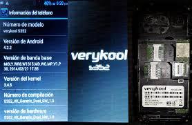 Firmware De Verykool S352 - Clan GSM ...