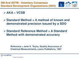Update On Astm And Standard Methods Method Development Activities