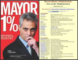 State Chicago Jew Mass-immigration For Jews Demonic This Israhell America Racist Emanuel But The Borders