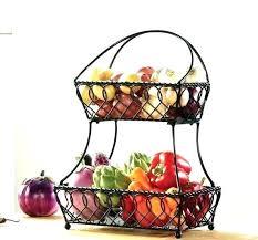 countertop vegetable storage fruit basket cool kitchen