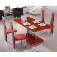 Table Et Chaise De Cuisine Rouge Chaise Tolixfr