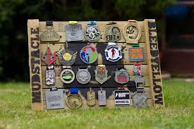 mudstacle medal wall