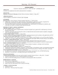 Objective Statement For Nursing Resume Experienced Nurse Objective